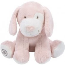 Beppe Gabriel розовый dog с a scarf 15 cm