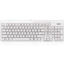 RAPOO WIRED клавиатура N7000 белый UI
