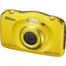 Fotokaamera NIKON COOLPIX W100 kollane