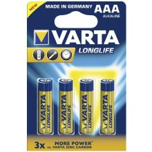 VARTA 1x4 Longlife Extra Micro AAA LR 03