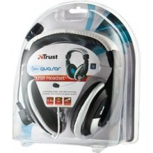 TRUST kõrvaklapid QUASAR USB/16976