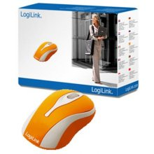 Мышь LogiLink USB Mini wired, оранжевый