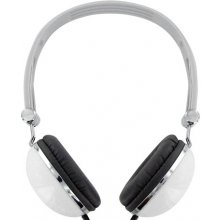 4World stereo headhpones bail valge 06532