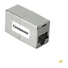 Hama 42055 CAT5e Cross-Over Kabeladapter...