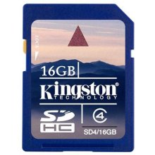 Mälukaart KINGSTON SDHC 16Gb