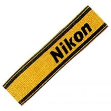 NIKON AN-6Y Shoulder Strap black / жёлтый
