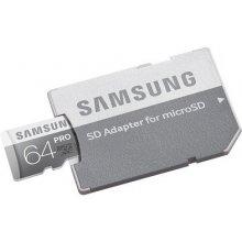 Флешка Samsung 64GB Micro C10U3 Pro 90R/80W...