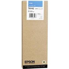 Тонер Epson T6142 Tinte голубой