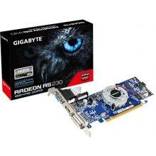 Видеокарта GIGABYTE Radeon R5 230 1GB DDR3...