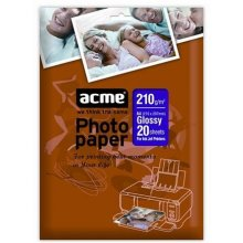 Acme foto Paper Glossy, A4, Weight 210 g/m²