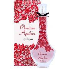 Christina Aguilera punane Sin, EDP 100ml...