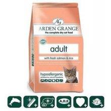 Arden Grange Adult Cat lõhe ja riisiga - 2kg