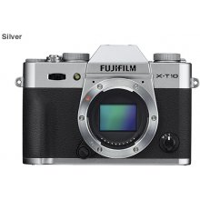 Fotokaamera FUJIFILM X-T10 body hõbedane