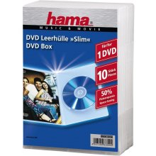 Диски Hama 1x10 Slim DVD Jewel чехол...
