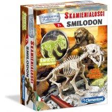 CLEMENTONI Skamieniałości Smilodon...
