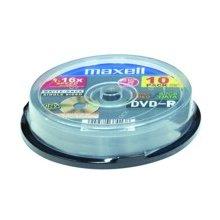 Диски Maxell диск DVD-R 4,7 16x cake 10