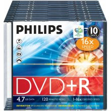 Diskid Philips DVD+R 4.7GB 16X
