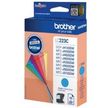 Тонер BROTHER чернила LC223C голубой |550...