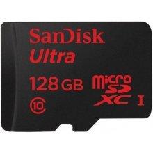 Флешка SanDisk ULTRA MICROSDHC UHS-I 128GB