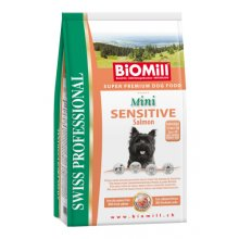 BioMill MINI SENSITIVE (лосось, рис) - 8kg
