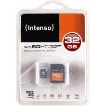 Mälukaart INTENSO microSDHC Karte 32GB