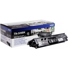 Тонер BROTHER Toner TN329BK чёрный | 6000...