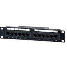 Equip 12-Port cat.5e Unshielded Patch Panel