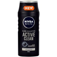 NIVEA Men Active Clean Shampoo, Cosmetic...