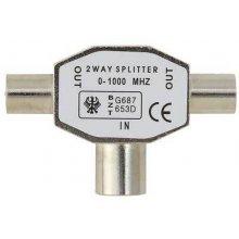 BELKIN Splitter Antenna TV Coax/2xCoax M/F...
