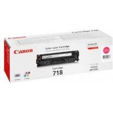 Tooner Canon 718 M Toner Cartridge, Magenta
