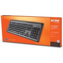 Клавиатура Acme KM03 Slim Full Size...
