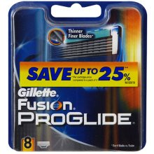 GILLETTE Fusion Proglide 8pc - Replacement...