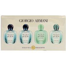 Giorgio Armani Mini Set, 2x5ml edp Acqua di...