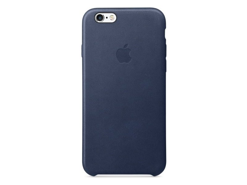 new arrival 1eea9 1da59 Apple iPhone 6s Leather Case Midnight Blue