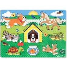 Melissa & Doug Wooden puzzle - Pets