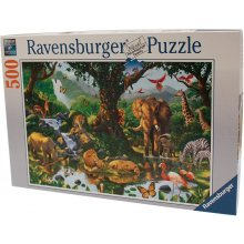 RAVENSBURGER 500 elements AFRICAN ANIMALS