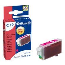 Тонер Pelikan Tinte magenta (Canon CLI-521)
