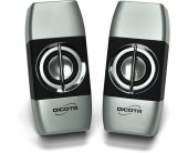 Dicota USB speakers with stereo sound