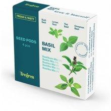 Tregren Fresh&Tasty Basil Mix, 4 seed pods:...