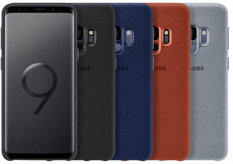 ed05bcf0e48 Samsung Alcantara ümbris EF-XG960 für Galaxy S9 punane