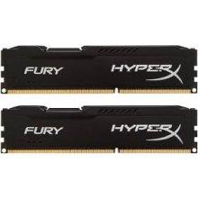 Mälu HyperX DDR3 Fury 8GB/ 1866 (2*4GB) CL10...