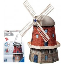 RAVENSBURGER 216 EL. 3D Dutch Windmill