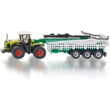 SIKU Class Xerion tractor koos a tank