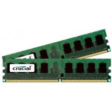 Mälu Crucial 4GB KIT (2GBX2) DDR2 1066MHZ