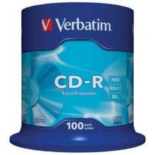 Диски Verbatim 1x100 Data Life CD-R 80...