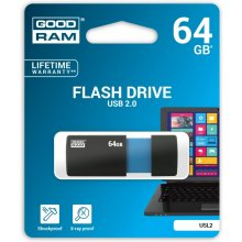 Флешка GOODRAM SL!de 64GB USB2.0 чёрный