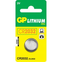 GP Batteries CR2032 liitium Cell, liitium...