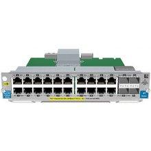 HP J9536A 20P GT POE+ 2P SFP+ Switch Modul