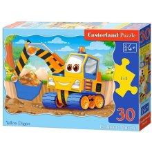 Castor 30 EL. Żółta koparka