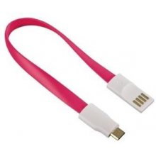 Hama 136110 Lade-Sync-Kabel Magnet USB2.0...